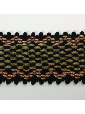 614-406  Black/Red/Green