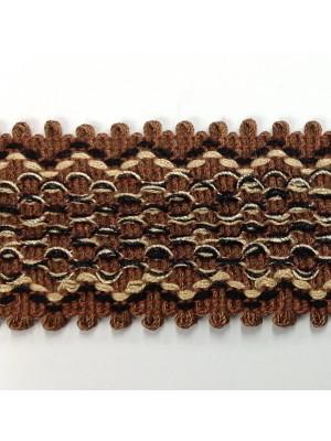 614-A09  Brown/Black/Gold