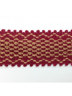 614-A12  Red/Gold