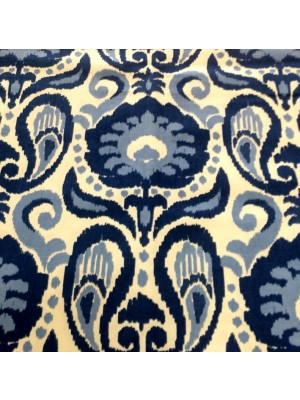 Grand Ikat-Blue-GOLD