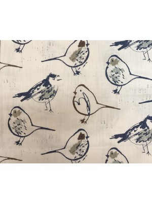 Bird Toile-RegalBlueSlubCan-PP